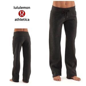 Lululemon Cuddle up pant II - sweat pants- Dk grey